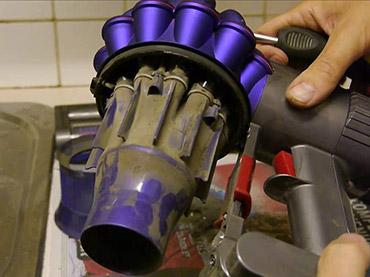觸吸塵器髒污異味(深層清潔)