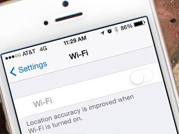 Wi-Fi/藍芽無法使用