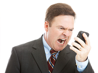 講電話對方聽不到