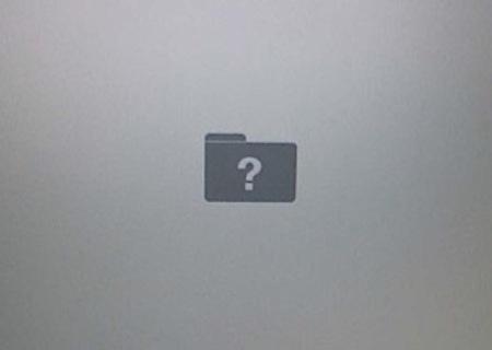 mac 資料夾問號